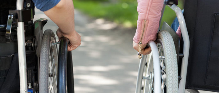 The Need For Love; With Or Without A Wheelchair